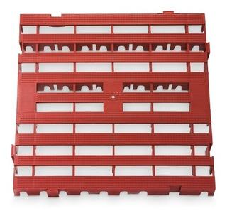 Porta Pallet Estrado Modular Para Vestiario, Cozinha Industr
