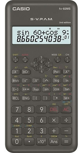 Calculadora Cientifica Casio Fx-82ms Garantia Oficial 2 Años
