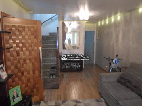 Sobrado Com 3 Dormitórios À Venda, 120 M² Por R$ 650.000,00 - Vila Rosália - Guarulhos/sp - So0308