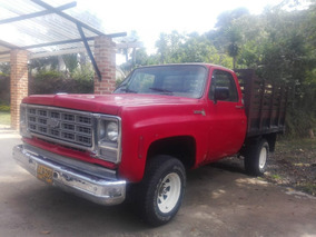 Vendo Camioneta Chevrolet Diesel C-10 Modelo 82 Tipo Estaca