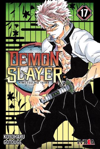 Imagen 1 de 4 de Manga - Demon Slayer: Kimetsu No Yaiba 17 - Xion Store