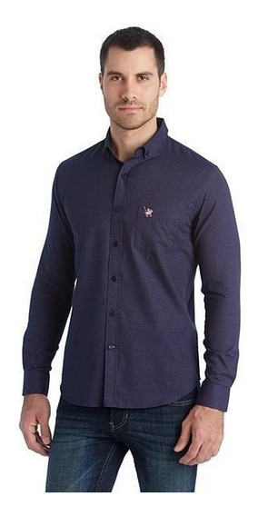 Camisa York Team Polo Club Estampada Pr-1738922