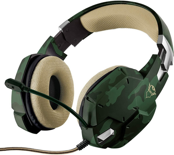 Headset Gamer Gxt 322c Verde Compatível Com Ps4, Xbox, Pc