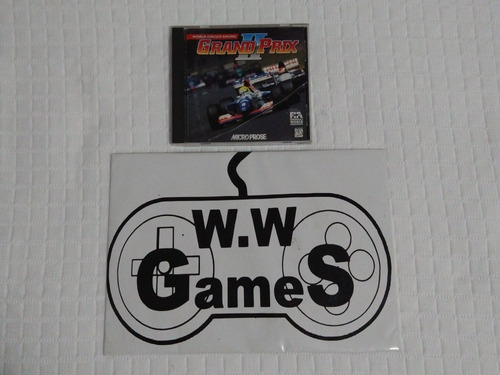 Pc Cd - Jogo Grand Prix Ii - 100% Original.