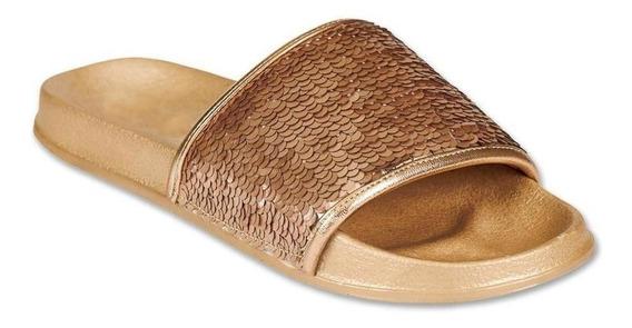 Calzado Juvenil Niña Sandalia Tropicana Lentejuela Reversibl