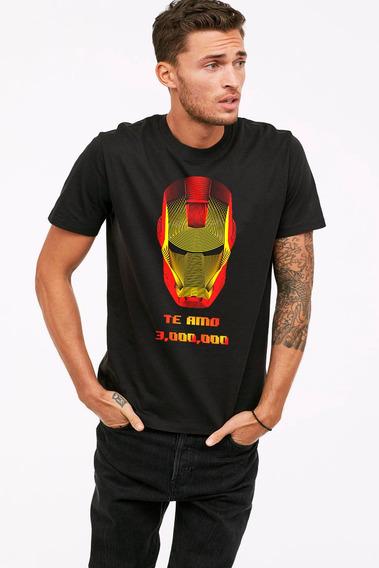 Playera Ironman Te Amo 3 Millones Avengers Endgame