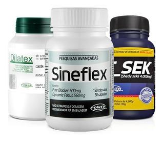 Combo Sineflex + Dilatex + T Sek