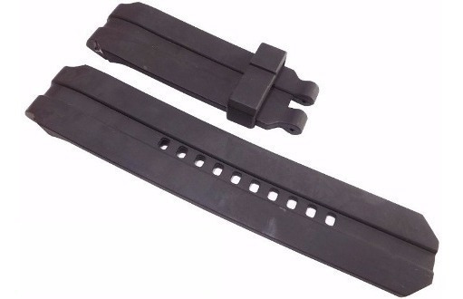 Pulseira Oakley Uhr Stealth Gearbox Preta Sem Fivela