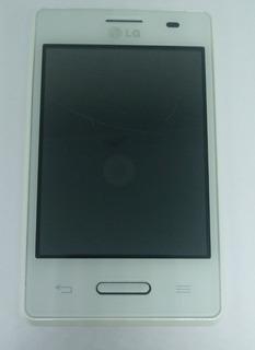 LG Optimus L3 Ii E425f Branco C/ Avaria Sem Garantia