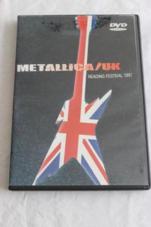 Video Dvd Metallica En Vivo Readimg Festival 1997 Uk