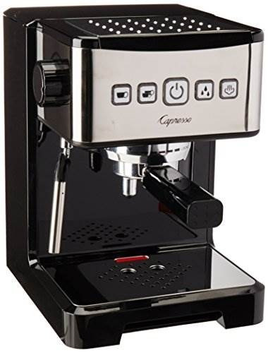 Capresso 124.01 Ultima Pro - Cafetera Espresso Con Bomba Pro
