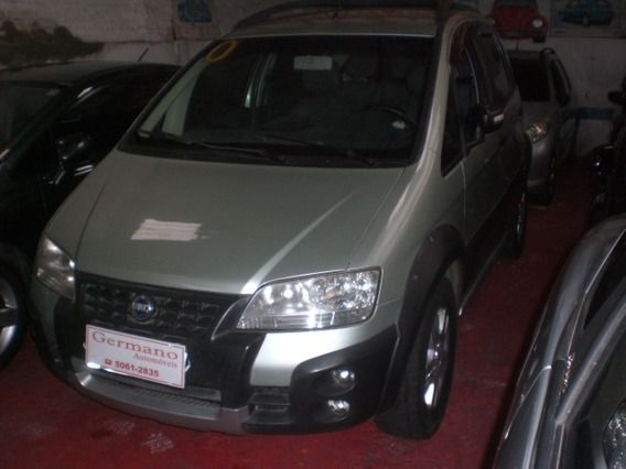 Fiat Idea 1.8 Adventure Flex 5p Verde 2007/2007