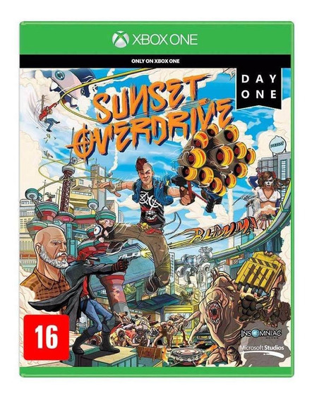 Sunset Overdrive Day One Edition Xbox One Original Lacrado