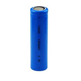 Kit 3x- Bateria Lítio 14500 3.7v 1300mah Original Protegida