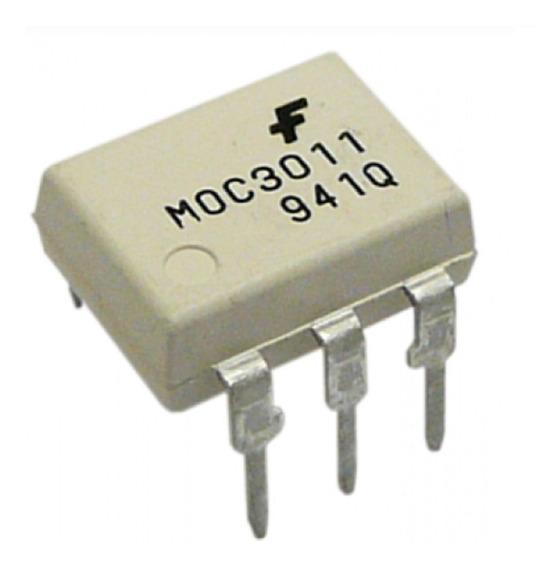 Pack X 2 Moc3011 Dip-6 Ic Moc 3011