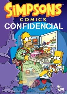 Comic Simpsons Comics: Confidencial - Autores Varios