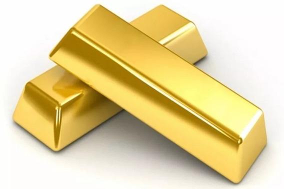 Barra De Ouro 18k 750 Com Certificado Legítimo Cada 1kg