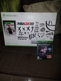 Xbox One S 4k 1tb Nba 2k19 Nuevo Sellado+ Un Juego Adicional