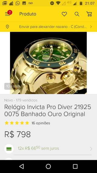 Relogio Pro Driver Original
