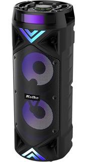 Parlante Doble Bluetooth V5.0 Kolke Robot Micrófono Usb Sd