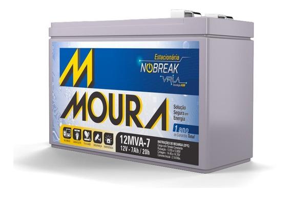 Bateria Estacionária Para Nobreak Moura 12mva-7