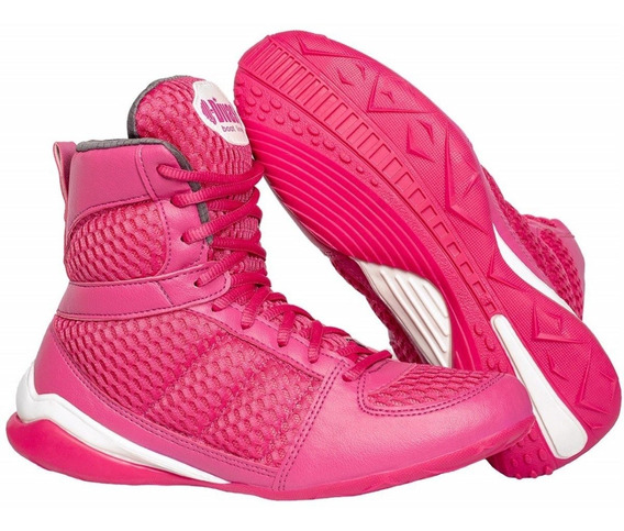 Bota De Treino Divas New Collection Rosa Academia Fitness