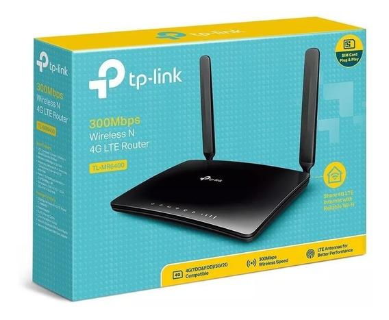 Modem Router 4g Lte Inte Digitel Simcard Tl-mr6400 Potente