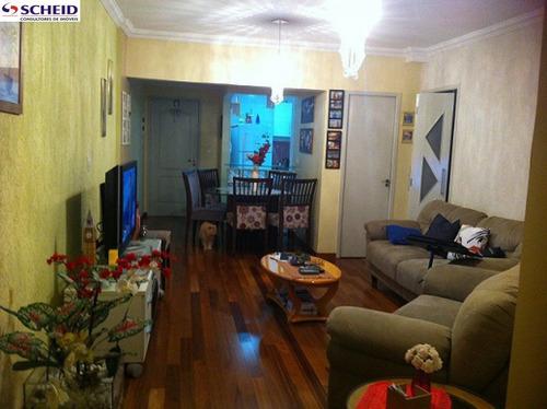Imagem 1 de 15 de *apartamento 98 M² Com 3 Dorms, 1 Suíte, 3 Banheiros, 2 Vagas!* - Mc769