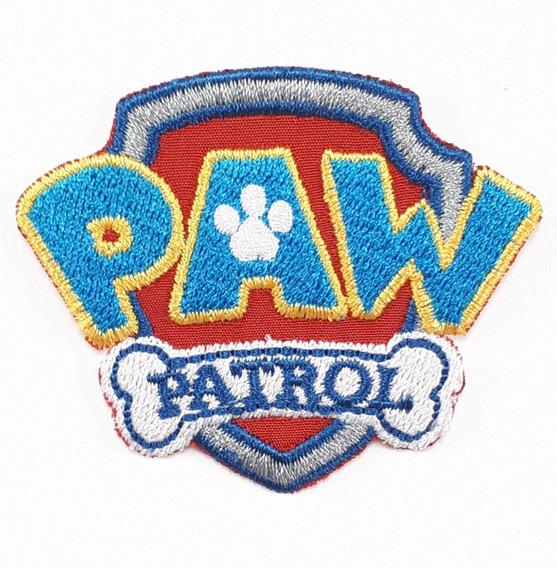 Parche Bordado Termoadherible Paw Patrol