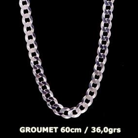 Corrente Groumet Em Prata 925 - 60cm - 36,0grs