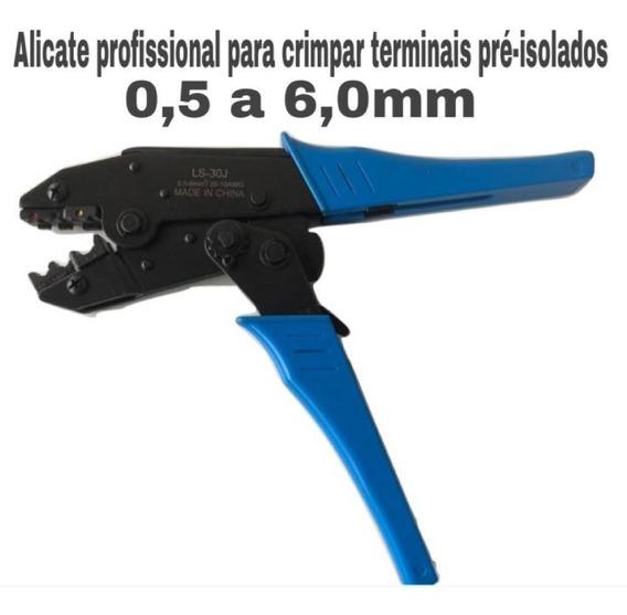Alicate Crimpar Prensar Terminal Pré-isolado 0,5 A 6,0mm²
