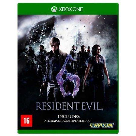 Resident Evil 6 - Xbox One Mídia Física Lacrado
