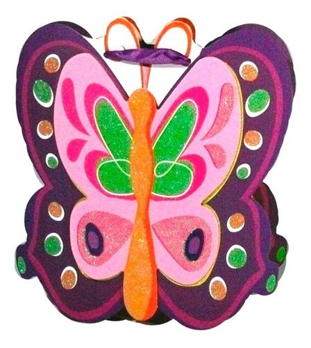 Bolsa Para Regalo, Sorpresas Fiesta Infantil Diseño Mariposa