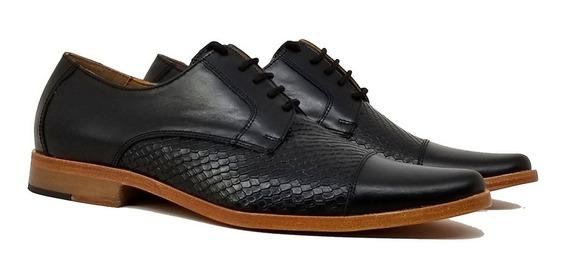 Zapatos Vestir Hombre Cuero Suela Salvador Tibay Calzados