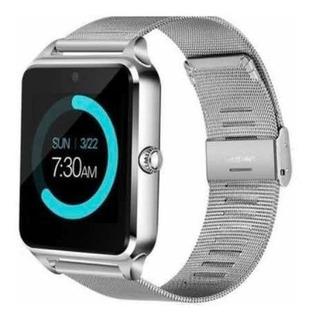 Relógio Smartwatch Pulseira Metálica
