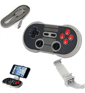 Joystick Manete Gamepad Bluetooth Sem Fio 8bitdo Celular Pc