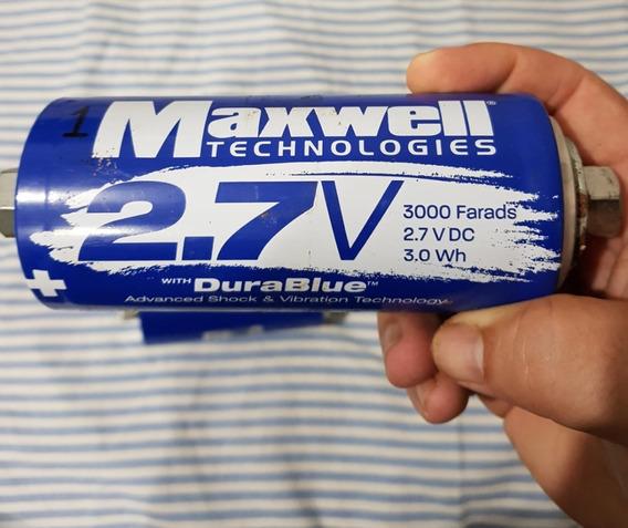 Maxwell Super Mega Capacitor 2.7 V 3000f - Unidade