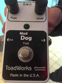 Pedal Fuzz/distortion Boutique Americano Mad Dog Toadworks