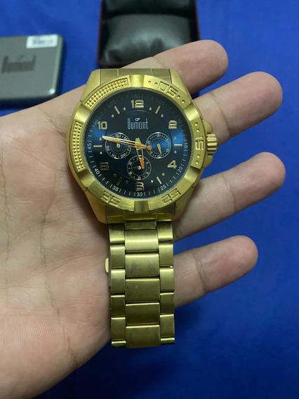 Relógio Dumont Dourado - Original