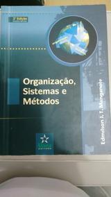 Livro Organização, Sistemas E Métodos - Editora Alínea