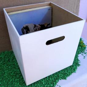 Caixa Branca Para Disco / Lp / Vinil Pague Com Cartão
