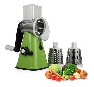 Rallador Con Polea Rebanador Verduras Frutas Queso - T1852