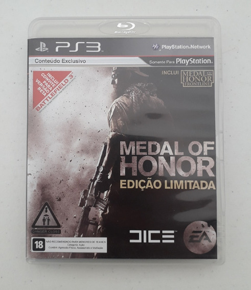 Jogo Medal Of Honor Ps3 - Mídia Física - Usado - Playstation