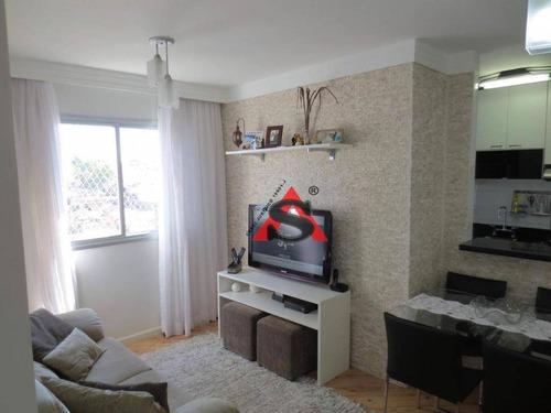 Apartamento Com 2 Dormitórios À Venda, 50 M² Por R$ 300.000,00 - Sacomã - São Paulo/sp - Ap40437