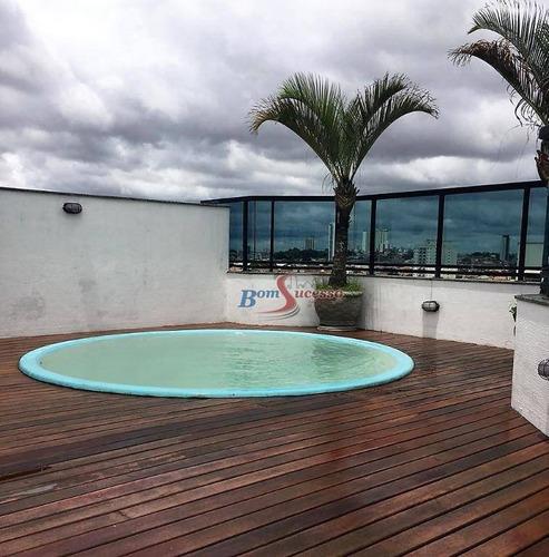Imagem 1 de 23 de Cobertura Com 3 Dormitórios À Venda, 180 M² Por R$ 1.400.000,00 - Vila Regente Feijó - São Paulo/sp - Co0095