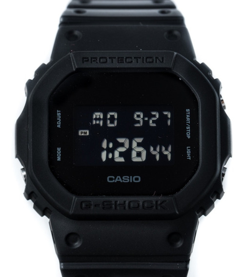 Relógio G-shock Dw5600bb Clássico Preto All Black Original