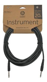 Planet Waves Pw-cgt-20 Cable Plug Plug Daddario 6 Metros