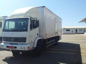 Mercedes-benz Atron 1719 Com Baú Toco Ano 2014