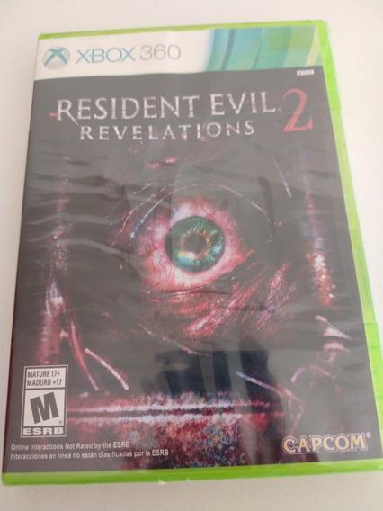 Resident Evil Revelations 2 Original Xbox 360 Mídia Física