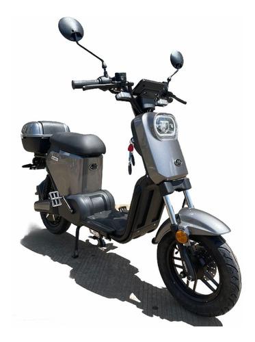 Imagen 1 de 6 de Motocicleta Electrica Jia E-go Autonomia 70km 50km/h Plata